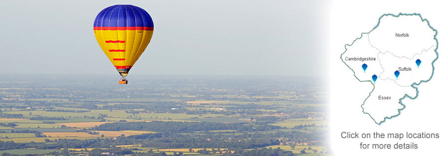 Hot Air Balloon flights in Norfolk Suffolk and Cambridgeshire